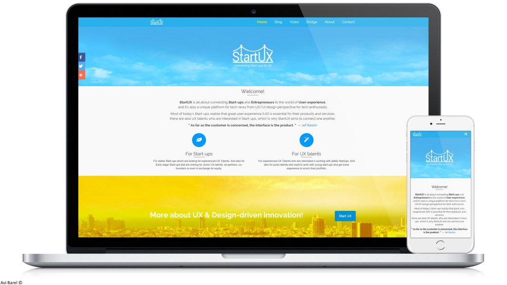 StartUX Tech & Design Magazine