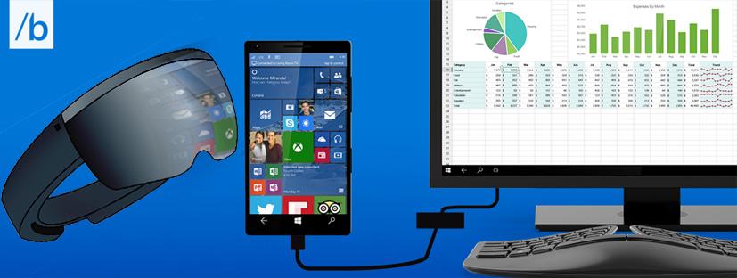 Microsoft's continuum UX