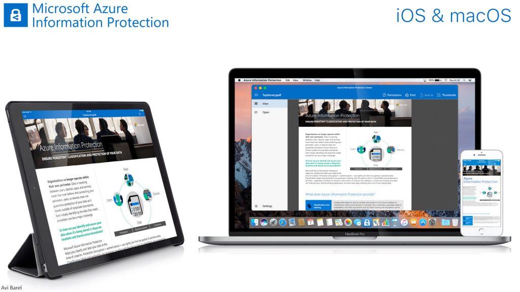 macOS & iOS App Avi Barel