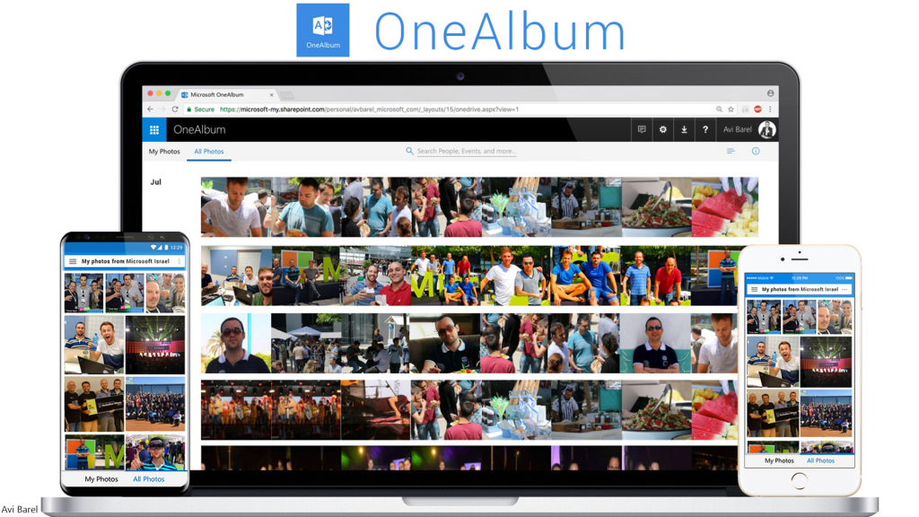 Microsoft OneAlbum for all your photos