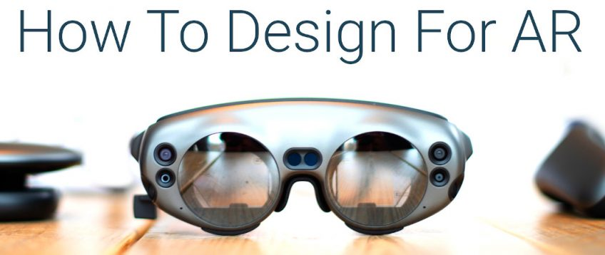 AR Design tools & Few UX principles