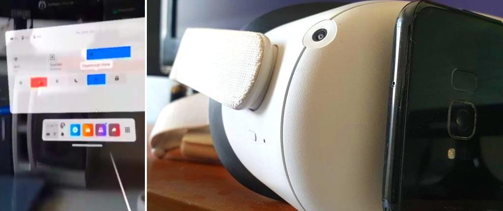 Oculus Quest 2 Colorful AR Pass-through mode by Avi Barel